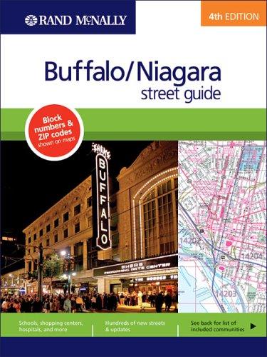 Rand McNally 4th Edition Buffalo/Niagara street guide