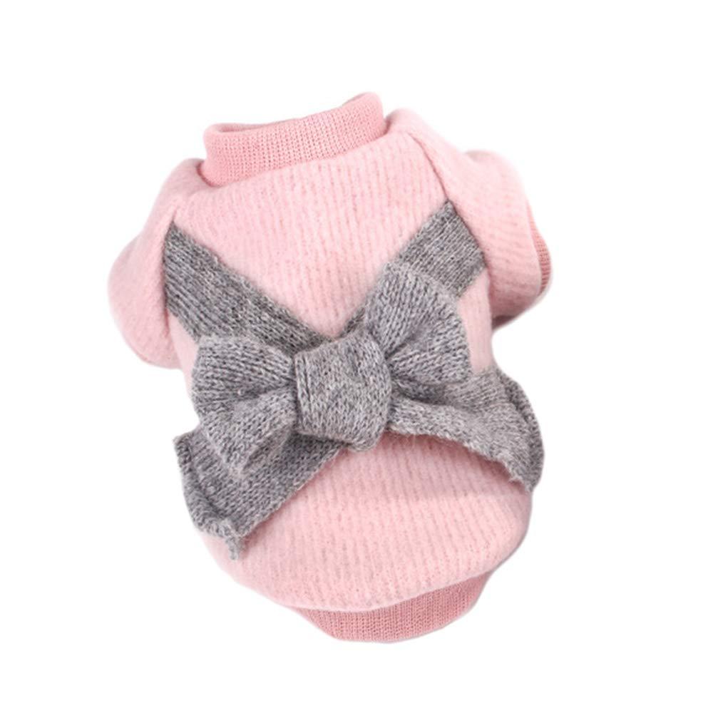 FLAdorepet Dog maglione lavorato a maglia maglia vestiti cani camicia inverno cane cucciolo maglione per cani di piccola taglia, M, Mocassini eleganti da donna
