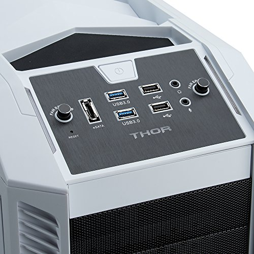 Rosewill Gaming ATX Full Tower Computer Case Cases THOR V2-W Black, white by Rosewill (Image #7)