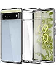 Spigen Ultra Hybrid Designed for Google Pixel 6 Case (2021) [Anti-Yellowing] - Crystal Clear