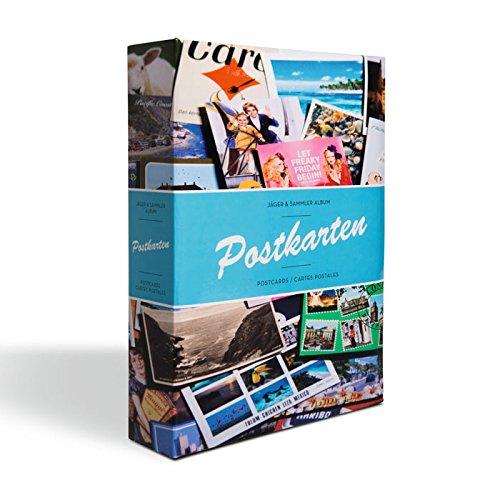 mit 50 festeingebundenen H/üllen Leuchtturm Sammel-Album POSTKARTEN f/ür 200 Postkarten