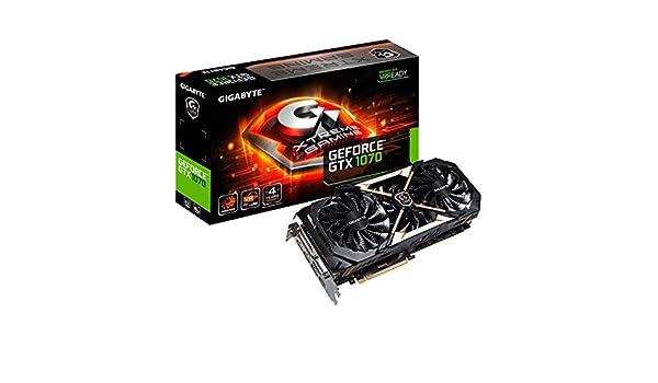 Gigabyte GeForce GTX 1070 Xtreme Gaming 8 GB GDDR5 Tarjeta ...