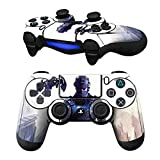 MODFREAKZ Pair of Vinyl Controller Skins - Military Man Soldier Stands for Playstation 4