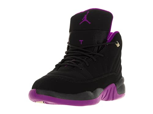 6a761fefcda Air Jordan 12 XII Retro (PS) Black - Hyper Violet - Purple US 13C