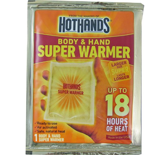HotHands Hand and Body Super Warmer pk of - Large Warmer Body