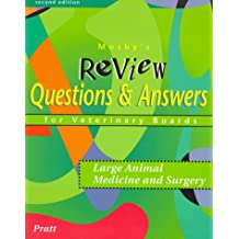 Mosby's Review Questions and Answers For Veterinary Boards: Large Animal Medicine and Surgery