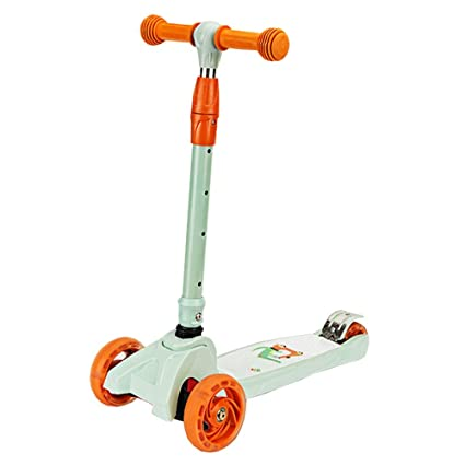 LJHBC Patinete Ligero Plegable Altura Ajustable Scooter de 3 ...