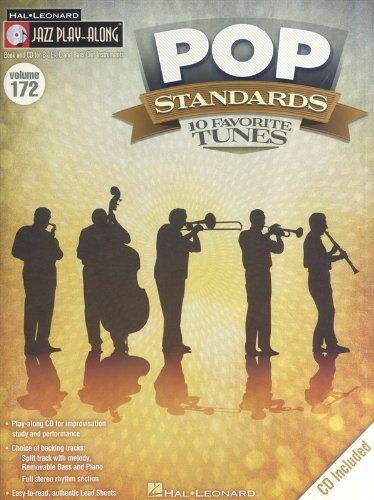 Pop Standards: Jazz Play-Along Volume 172