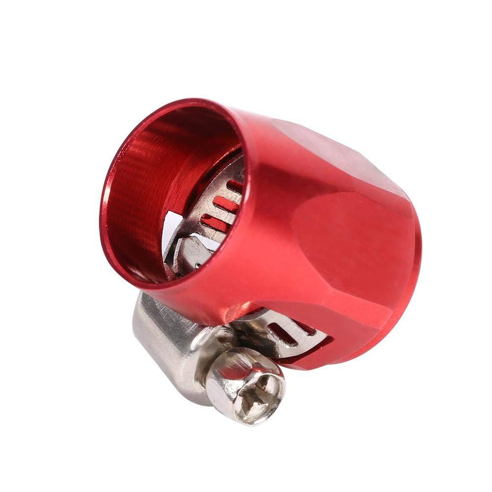 AN6 flessibile finitura fine morsetto clip Line End cover Finisher serraggio, olio combustibile acqua linea clip morsetto per auto auto Keenso