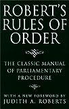 Robert's Rules of Order, Henry M. Robert, Judith A. (contr) Roberts, 0517190036