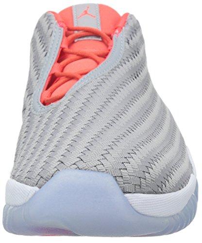Nike Air Jordan Future Low, Scarpe Sportive Uomo Wolf Grey/Infrared 23/White