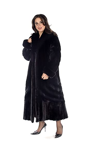 Madison Avenue Mall Ranch Mink Coat - Plus Size Designer Mink at ...