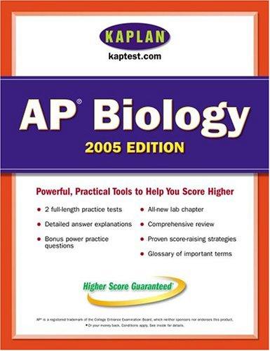 Kaplan AP Biology 2005