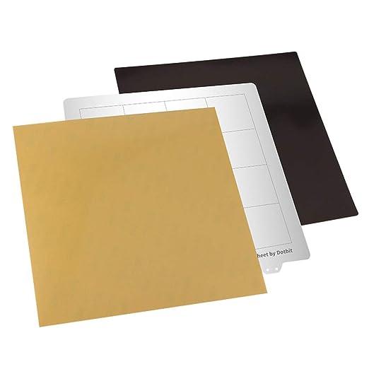 XuBa - Placa de Acero para Plataforma de Cama Caliente de 235 x ...