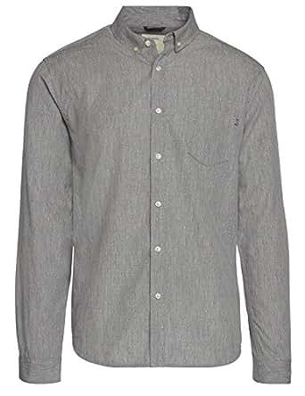 a3d817b3e2d Life After Denim Men s Long Sleeve Slim Fit Tally Dobby Shirt at ...