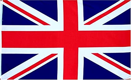 British Union Jack Uk Great Britain Country Flag Xft Poly