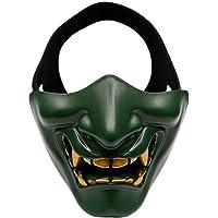 AOLVO Máscara de Disfraces, Máscara Táctica Protectora para/Paintball/CS Juego/Caza/Shooting, Careta de Demonio Ideal para Festival, Cosplay, Disfraz