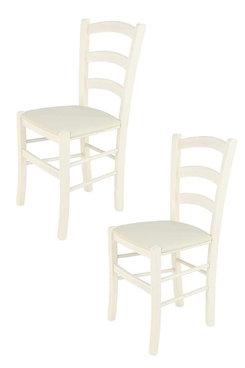 Tommychairs - Set 2 sedie Classiche Venice per Cucina e Sala da ...