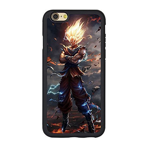 Dragon Ball Z Iphone 6 Case,Dragon Ball Goku TPU Case for Iphone 6/6s 4.7 Inches