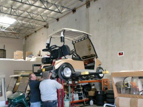 plantilla de plan de negocios para un carrito de golf reparaciones en español! (Spanish