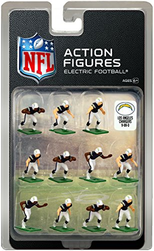 San Chargers Uniform Diego (Los Angeles Chargers Home Uniform NFL Action Figure Set)
