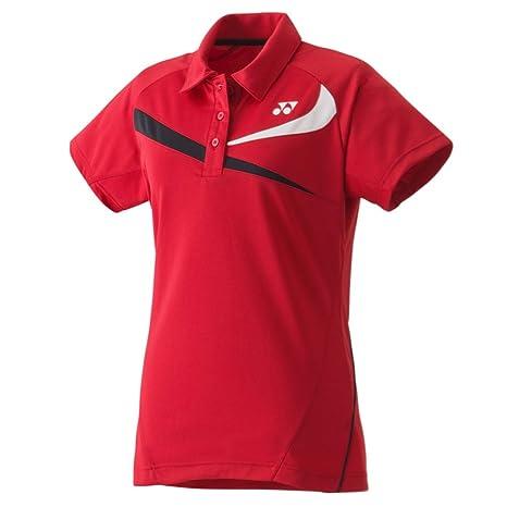 Yonex 20240EX Polo Mujer Rojo, Rojo: Amazon.es: Deportes y aire libre