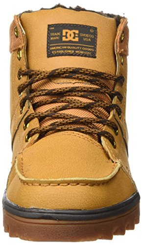DC Shoes Woodland, Stivali Classici Uomo Marrone (Wheat)