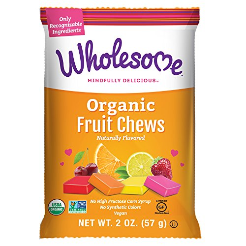Wholesome Organic Fruit Chews, Gluten Free, Vegan 12 ct. 2 oz.