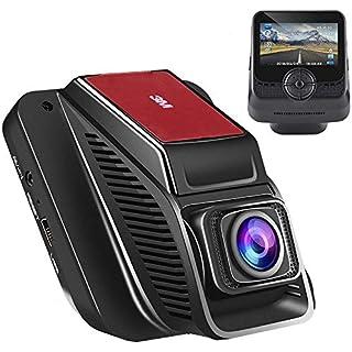 Sale Emmabin Car Dash Cam WiFi Dashboard Camera Car Driving Video Recorder Camera Full-HD 170 Wide Angle 2.45 inch TFT LCD Screen USB Charging Vehicle Video Camera Loop Recording with Night Vision Black