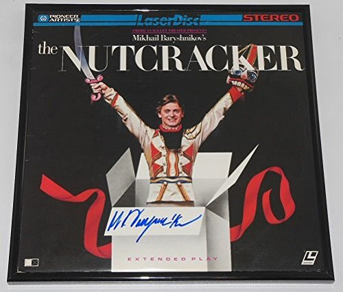 Mikhail Baryshnikov The Nutcracker Hand Signed Autographed LaserDisc Movie Framed Loa