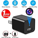 Spy Camera Hidden Camera Full HD 1080P Surveillance Camera Mini spy Nanny Camera