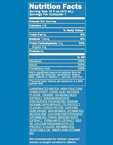 Amazon.com : AMP ENERGY, Cherry Blast, Caffeine, B Vitamins, 16 Ounce Cans (12 Count) : Grocery & Gourmet Food