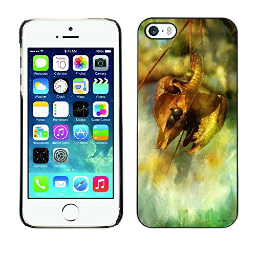 Hülle Case Schutzhülle Cover Premium Case // F00003645 Herbst // Apple iPhone 5 5S 5G