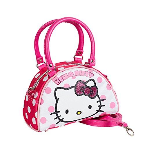 Karactermania 41488 Hello Kitty Borsa Messenger, 22 cm, Rosa