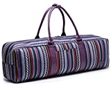 Cheap Elenture Canvas Yoga Mat Tote Bag with Storage Pockets,Fits Most Size Yoga Mats (Multicolor)