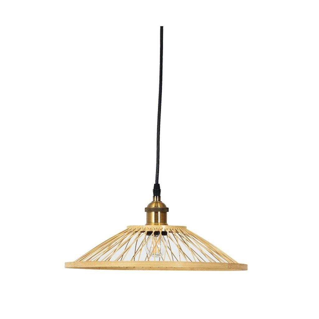 Japanischer einfacher Art-Leuchter, gesponnene Lampe, Bambusdeckenleuchte, Wohnzimmer-Esszimmer-Schlafzimmer-Schlafzimmer-Licht, süßer Shop-Verein-Haus-Tee-Raum-Café-Licht.