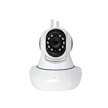 Cámara de vigilancia IP, cámara de vigilancia inalámbrica, 720p cámara de seguridad de espionaje HD, ip cam wifi anillo alerta / monitor de mascotas: ...