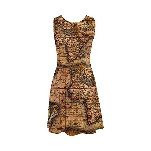 Sundress with Sleeveless Sunglasses Dress Giraffe D Story Women Design13 Dress Summer Women 8CgxqZw4
