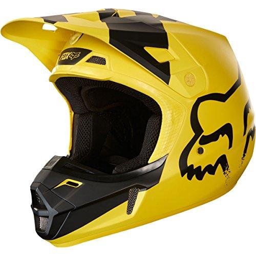 2018 Fox Racing V2 Mastar Helmet-Yellow-M ()