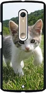 Funda para Motorola Moto X Style - Lindo Gato by WonderfulDreamPicture