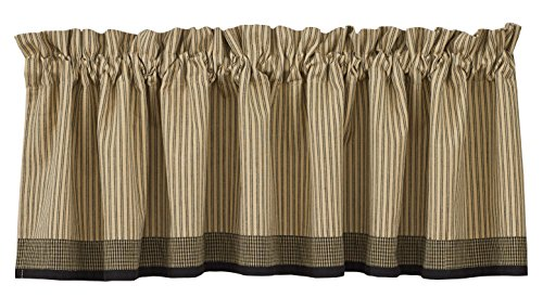Primitive Design (Park Designs Primitive Star Lined Border Valance, 72 by 14