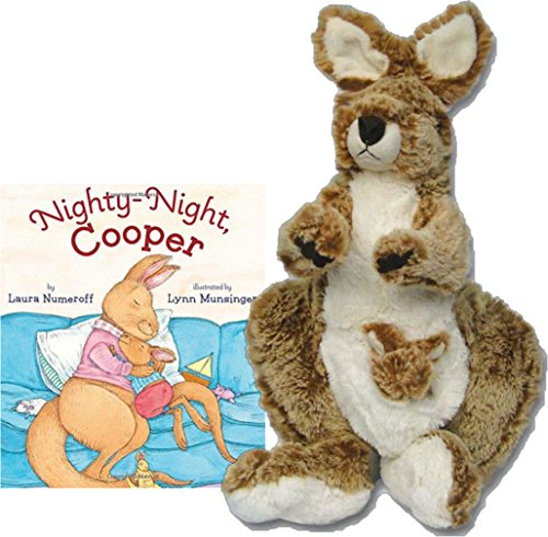 Night Night Cooper Bedtime Story Book with Stuffed 14