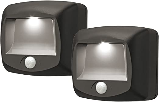 Wireless Motion Sensor Light Security INDOOR//OUTDOOR Walkway Beam COB LED 2-PACK