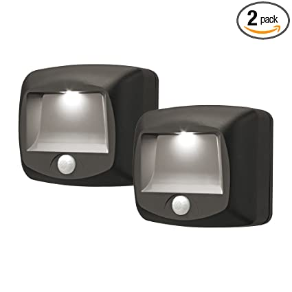 Mr Beams MB522 Wireless Battery Operated Indoor Outdoor Motion Sensing LED Step Awesome - Inspirational motion sensor lamp outdoor Top Design