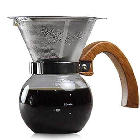 Cafetera Lavadora de Manos Olla de Goteo Filtro de café Papel sin ...