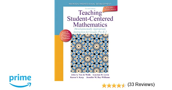Amazon.com: Teaching Student-Centered Mathematics: Developmentally ...