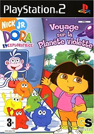 Dora L Exploratrice Voyage Sur La Planète Violette Amazon