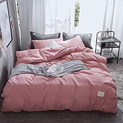 1ec8220ef12 Image Unavailable. Image not available for. Color  Annie s Bridal Duvet  Cover King Pink ...