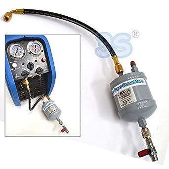 Separador de aceite universal para Recuperador Gas Refrigerante: Amazon.es: Amazon.es
