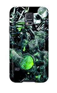 First-class Case Cover For Galaxy S5 Dual Protection Cover Amazing Set Of Abstractd Great